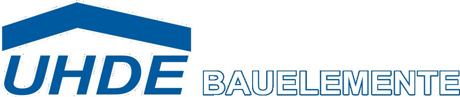 Logo Uhde, Uhde - Bauelemente 37539 Bad Grund – Gittelde Bahnhofstr. 4